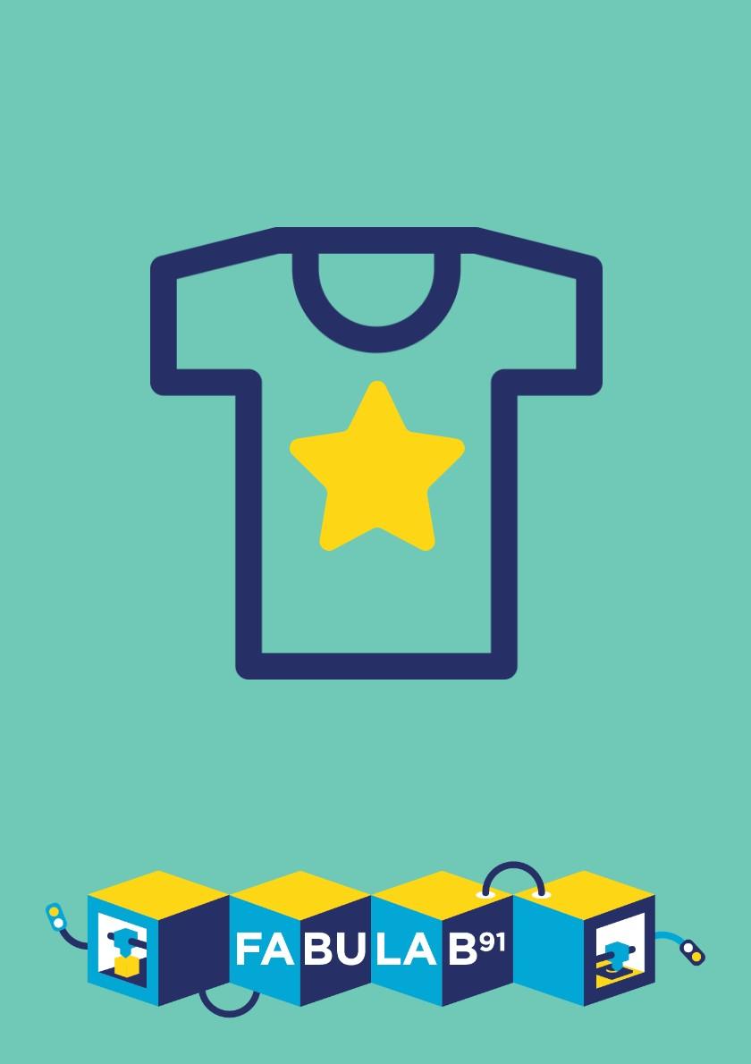 Personnaliser un t-shirt ou un sac avec ton flocage créatif au FabuLab 91 |